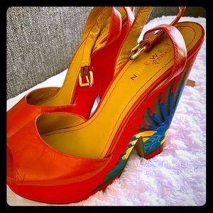 Nine West heel (used)